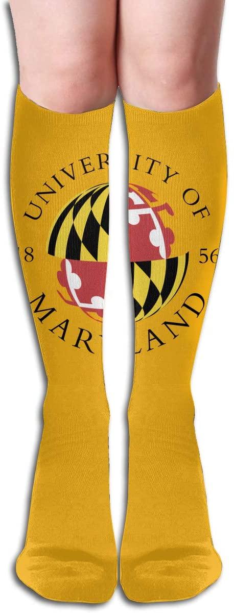 Umcp Men's/Women's Comfortable Casual Funny Long Knee High Socks Compression Socks Winter Warm Soccer Socks