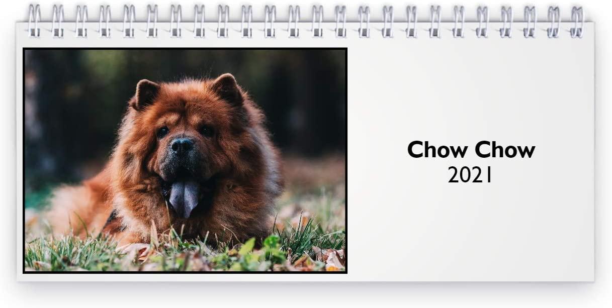 Chow Chow 2021 Desk Calendar
