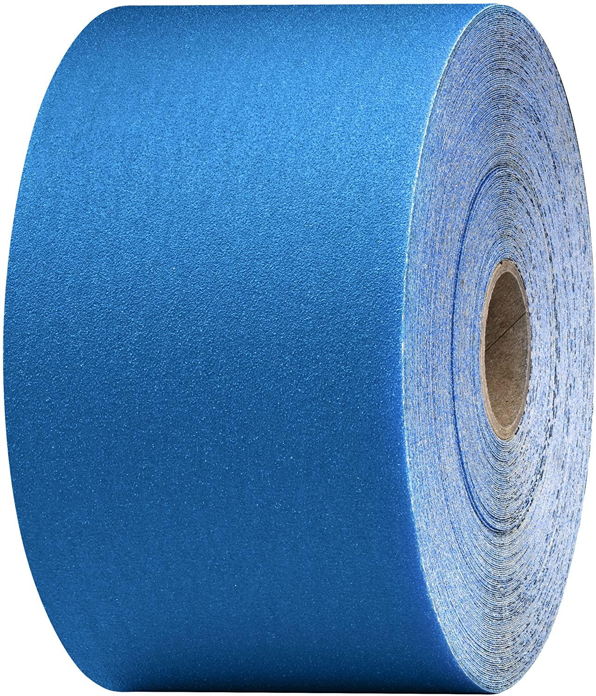 3M Stikit Blue Abrasive Sheet Roll, 36225, 320, 2-3/4 in x 45 yd