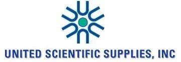 United Scientific Supplies SCBS06 Scissor, Blunt/Sharp, 6