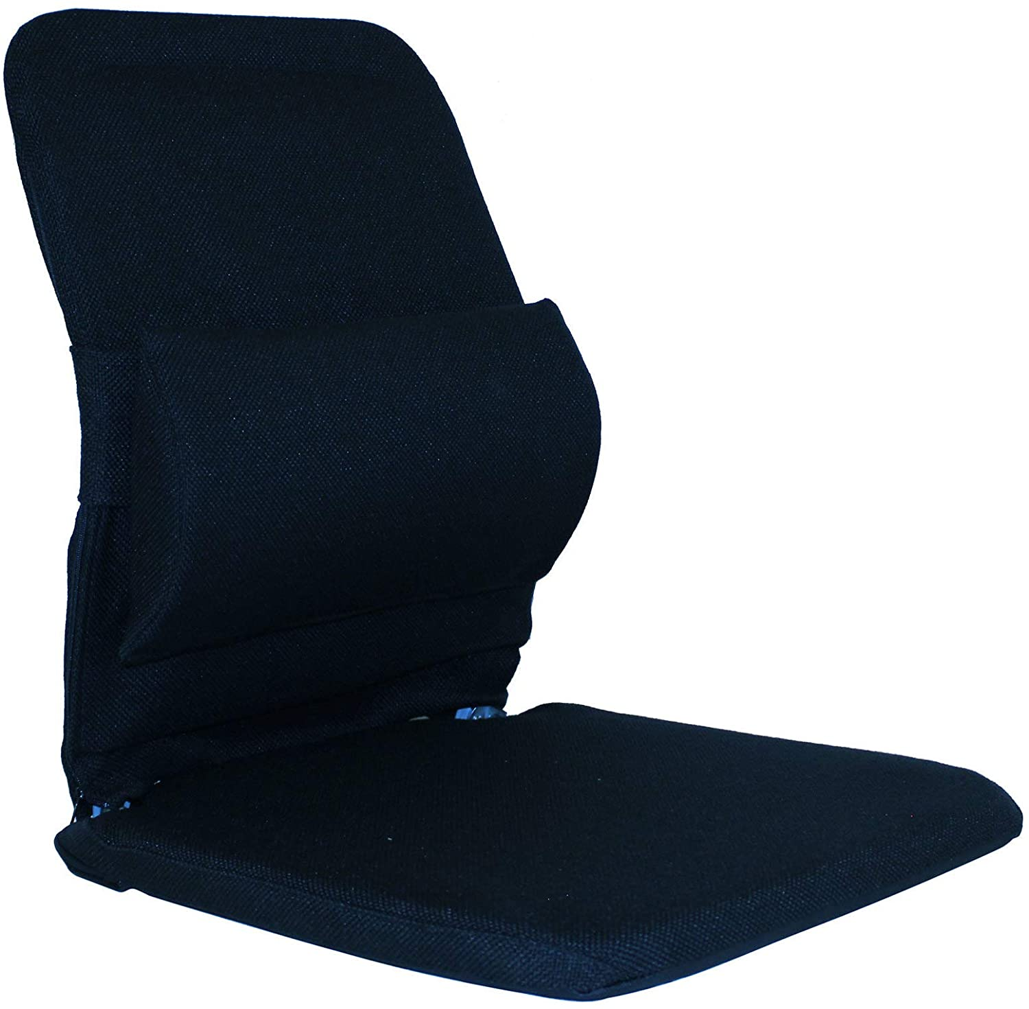 Q QUALITY BRAND COMPANY McCarty's Q-BRC-BLU 19 in. Wide Deluxe Sacro-Ease Ergonomic Seat Support 16x19x19 in. Blue Color