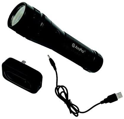 Ampro Tools AMPT24011 Rechargable Flashlight
