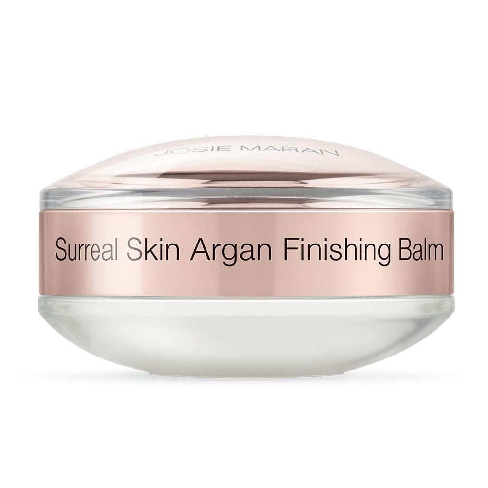 Josie Maran Surreal Skin Argan Finishing Balm - Anti-Aging Nourishing Skincare and Makeup Primer For Ultra Hydrated Skin (15g/0.5oz)