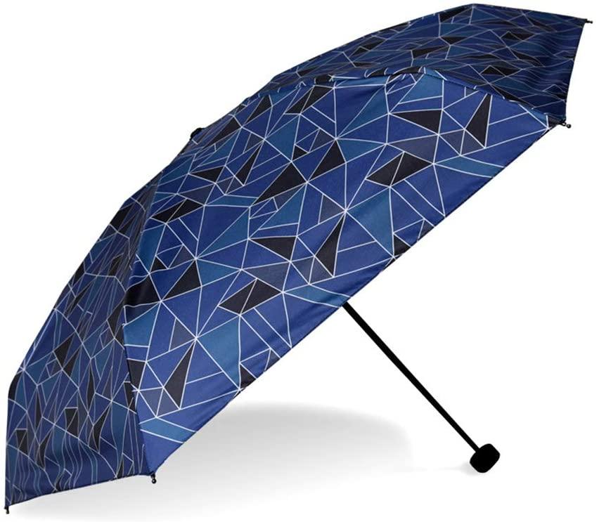 MAG.AL Full Shading Black Glue Parasol Small Mini Manually On/Off Dual-use Sunny Umbrella Anti-UV Compact Travel Umbrella Sun Umbrella