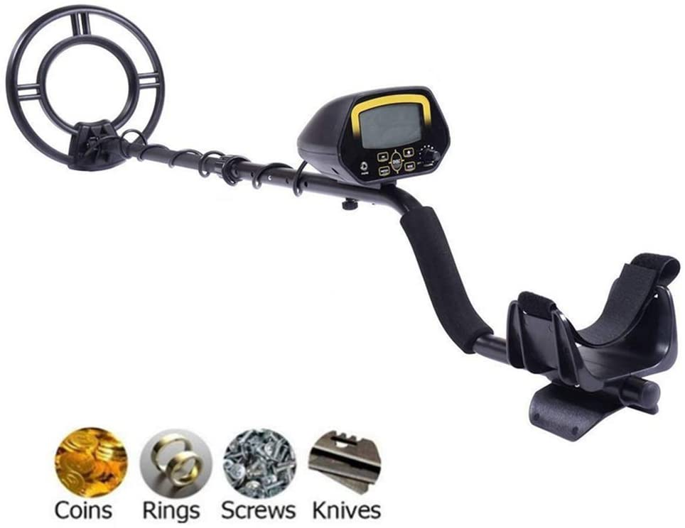ZPEM Metal Detector for Adults Professional High-Accuracy Waterproof with LCD Display Treasure Hunter Gold Digger Finder Suitable for Children and Beginners