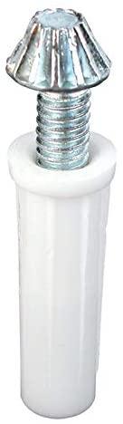 Prime-Line Pivot 3/8 Dia. Incl 2 Steel Nylon Carded / 2