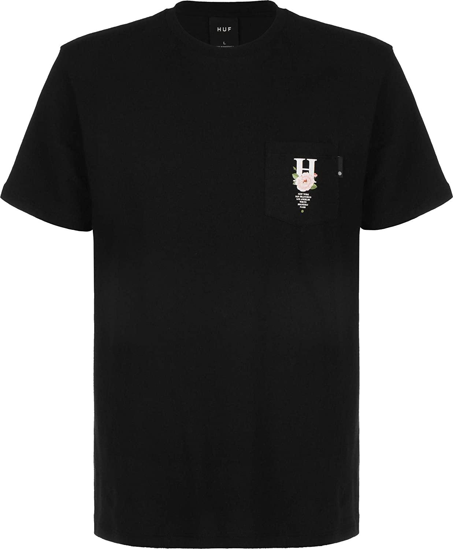 HUF Central Park Pocket T-Shirt - Black