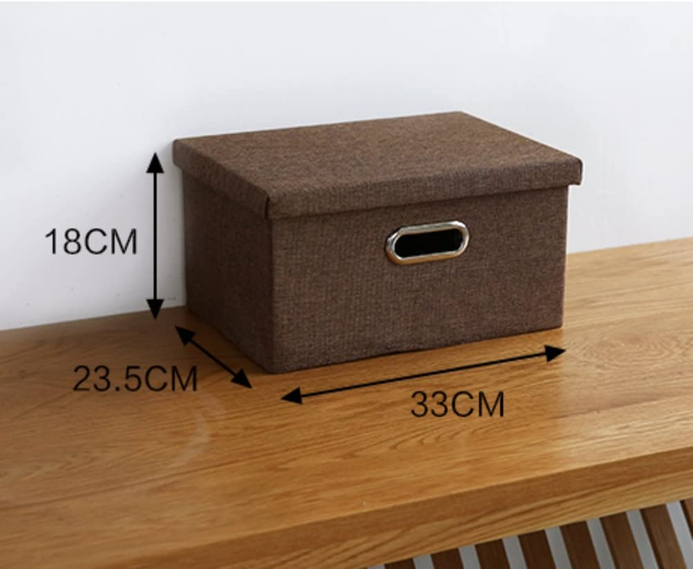 SOFT Duvet Covers simple fabric storage box/Storage Box/Wardrobe closet clutter at home collapsible storage box-M