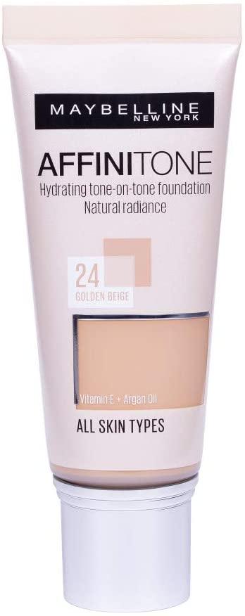 Maybelline Affinitone Unifying Foundation Cream 30ml - 24 Golden Beige