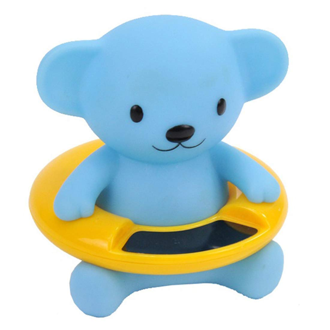 Baby Bath Thermometer with Room Thermometer(37-40 Degree centigrade is Recommended) Floating Alarm for Infant Bathtub and Swimming Pool/Tester Toy The Infant Safety Temperature Thermometer (Bear)