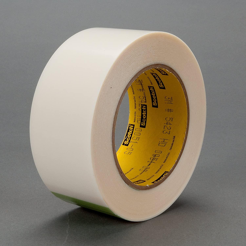 3M UHMW Film Tape 5423, Transparent, 5 in x 18 yd, 12 mil, 2 rolls per case
