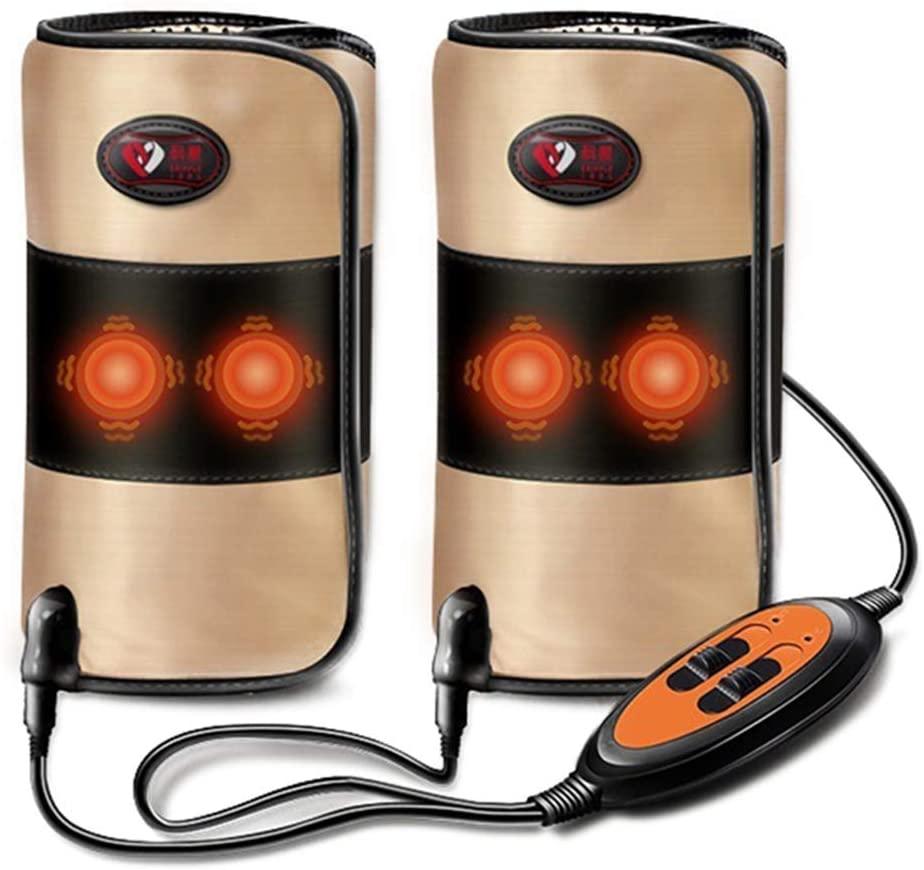 SSLW Electric Heating Leg Massager Pain Relief Knee Joint Massage Equipment Heating Vibration Knee Joint Support Arthritis Massage
