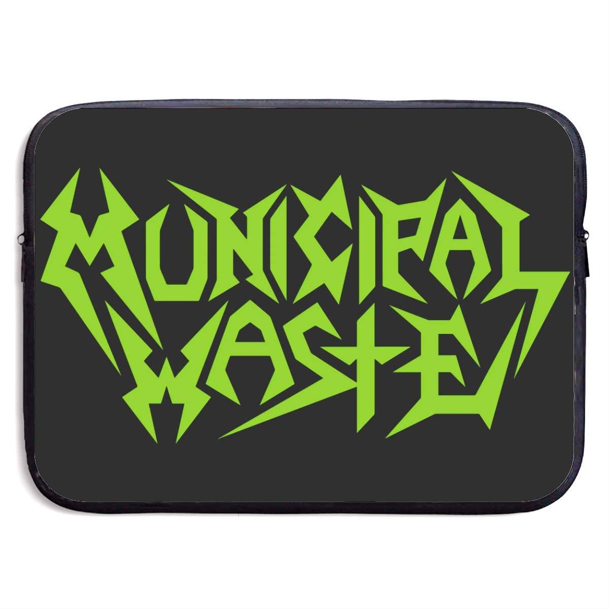 Municipal Waste Laptop Bag, Laptop Case, Briefcase Messenger Shoulder Bag for Men Women