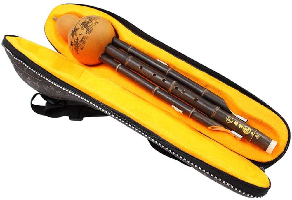 Cucurbit Musical Instrument C Down B-Adjustment Professional Playing Cucurbit Silk Children Adult Beginner Gift Cucurbit Flutes,Gtone