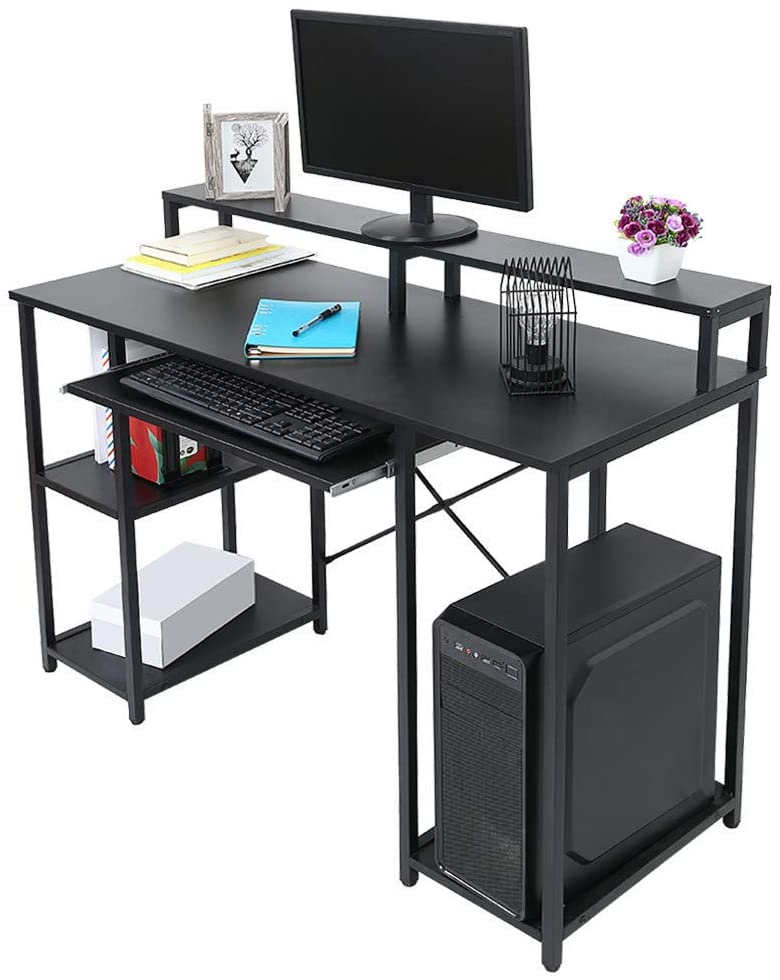 Computer Desk with Keyboard Tray, 47