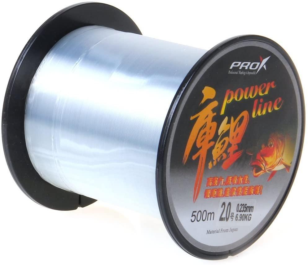 HOLIYOU Power Fishing line 1.5-2.0# Clear Nylon Thread 0.205-0.450mm Dia 3.00-14.14Kg Fishing Line Spool 500M