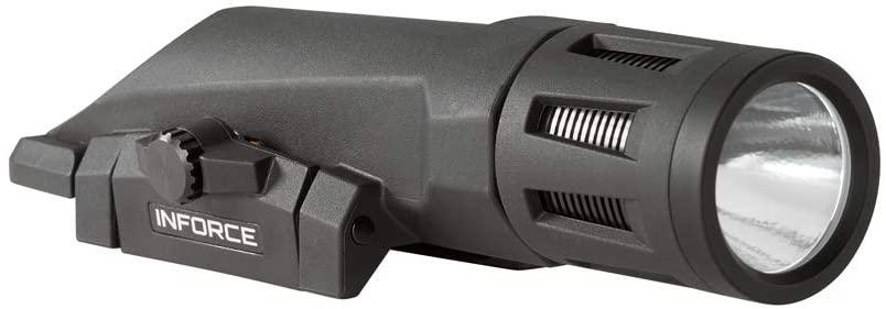 INFORCE WMLx 800 Lumens Gen 2 White Light Black Body WX-05-1 Weapon Mounted Light