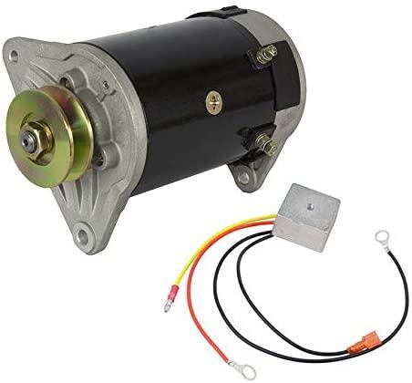 Rareelectrical NEW GENERATOR & REGULATOR KIT COMPATIBLE WITH EZ GO GOLF CART 3008369E GSB107-01 GSB107-01A