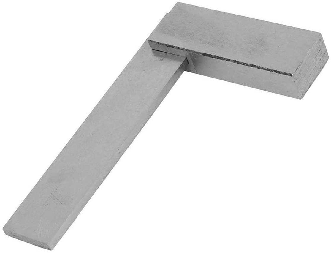 L Shaped Non-Marked Bevel Edge Square Welding Ruler Gauge(80x50mm)