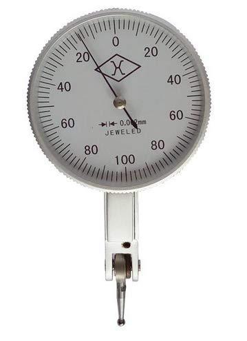 MeterTo Micron Dial Test Indicator 0.002-0.2mm Lever Dial Gauge