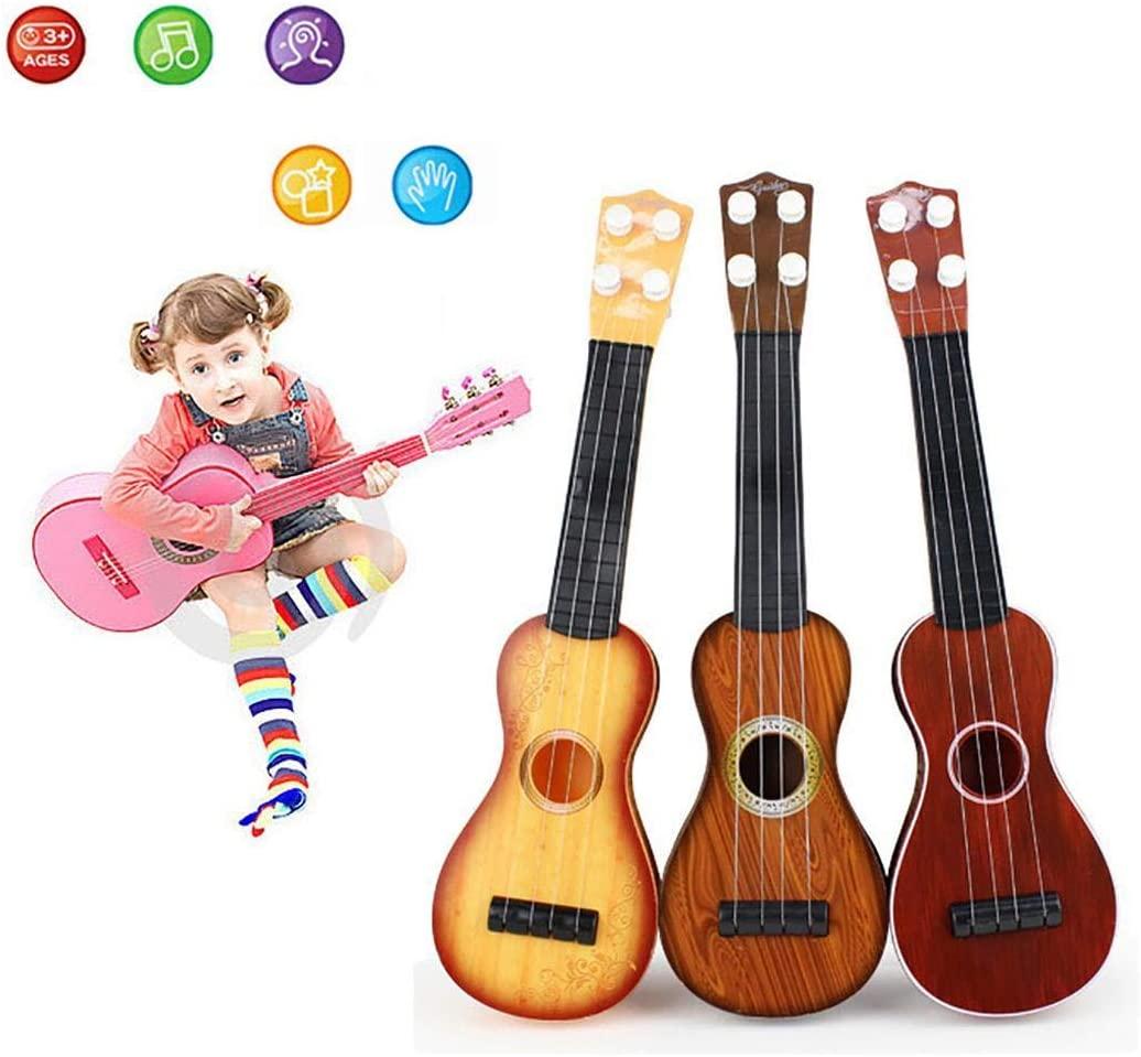 dalinana 15 Inch Ukulele Beginner 4 String Nylon Strings Guitar Musical Instrument Pianos & Keyboards