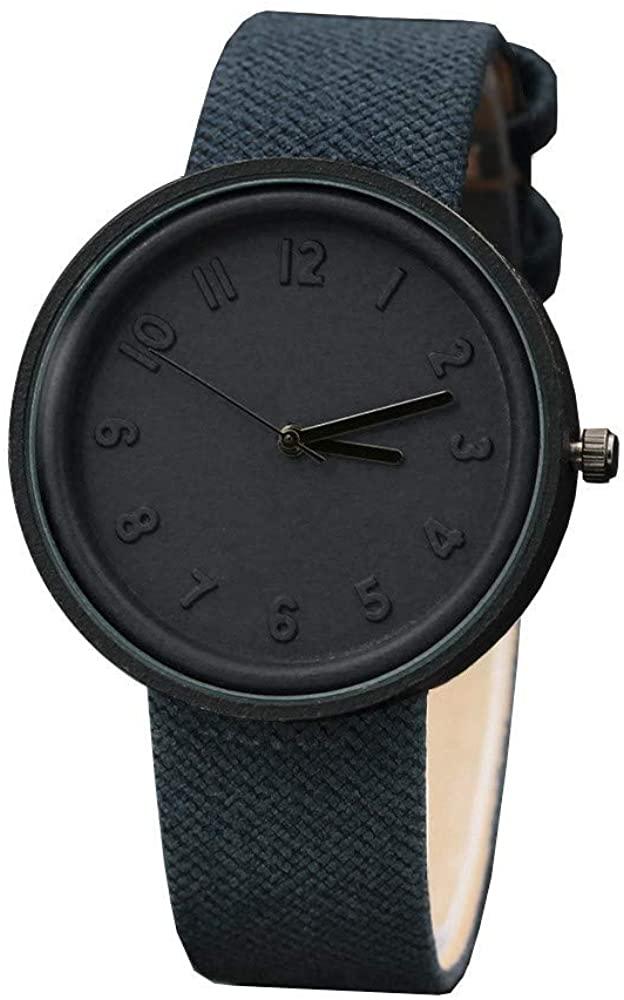 Women Watches Quartz Analog Canvas Band Wrist Watches Lady Fashion Casual Bracelet Watch for Women A094