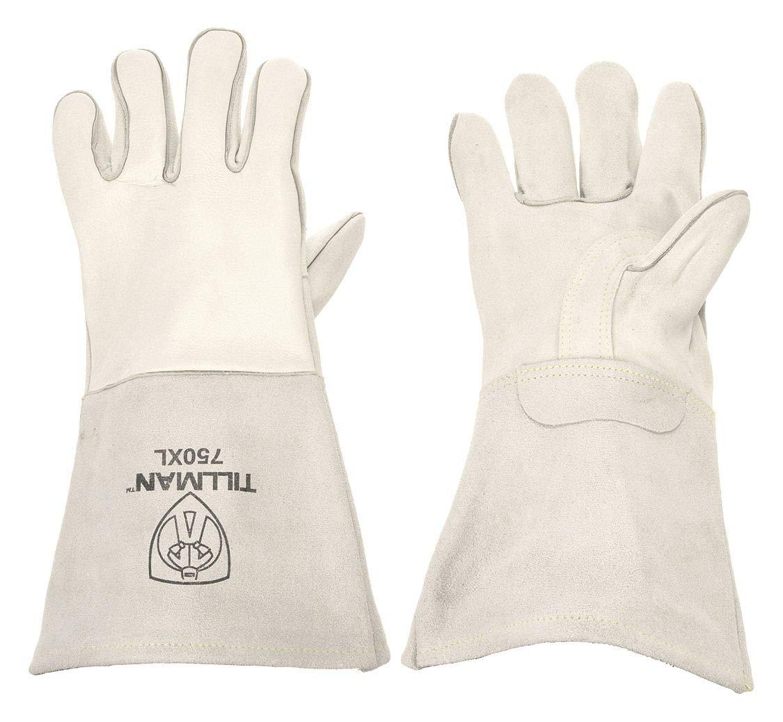 Welding Gloves, Stick, XL, Reinforced, PR