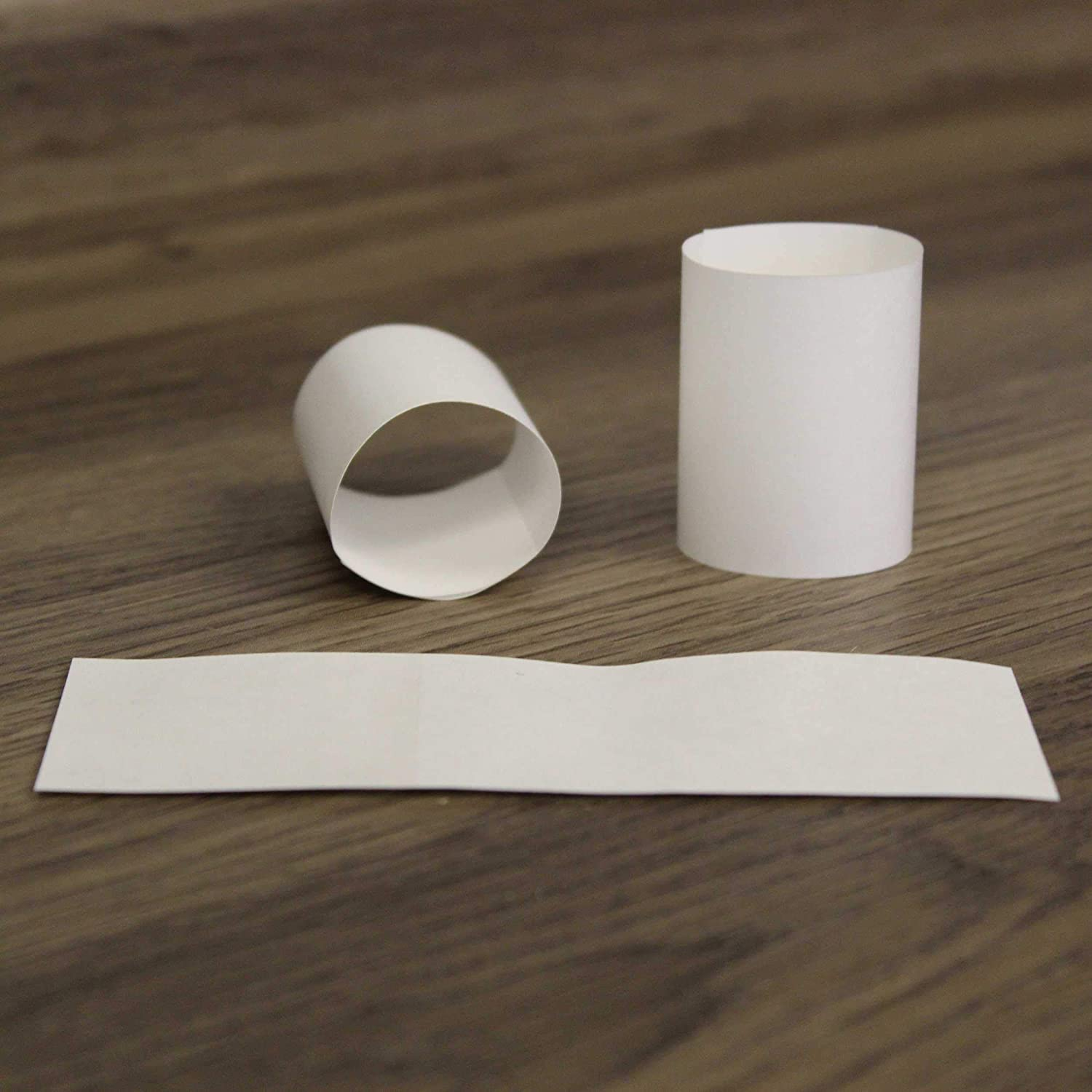 RayLynn Products, Pack of 20,000 White Premium Napkin Bands, Self-Adhesive 1.5