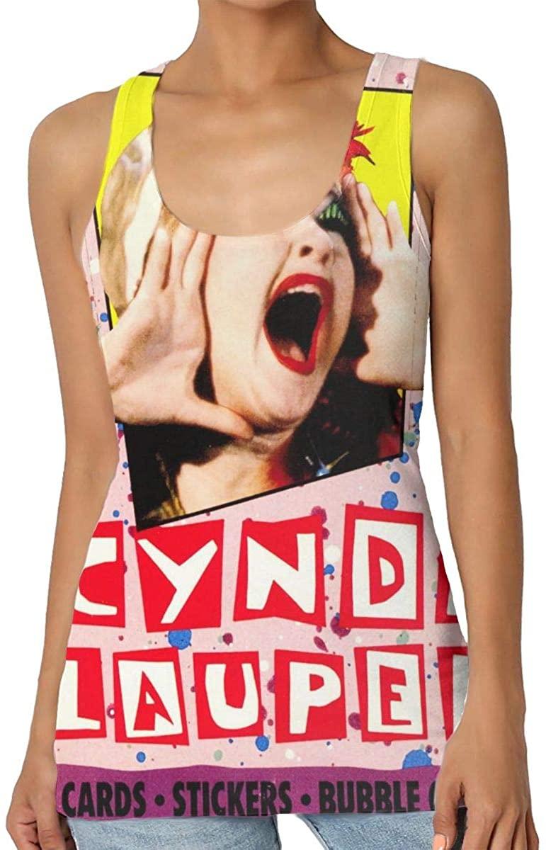 Cute Tops Sleeveless Garment Woman Premium Tank Top-Cyndi Lauper at Last Black