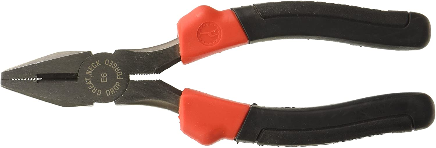 GreatNeck E6C 6 Inch Linesman Pliers