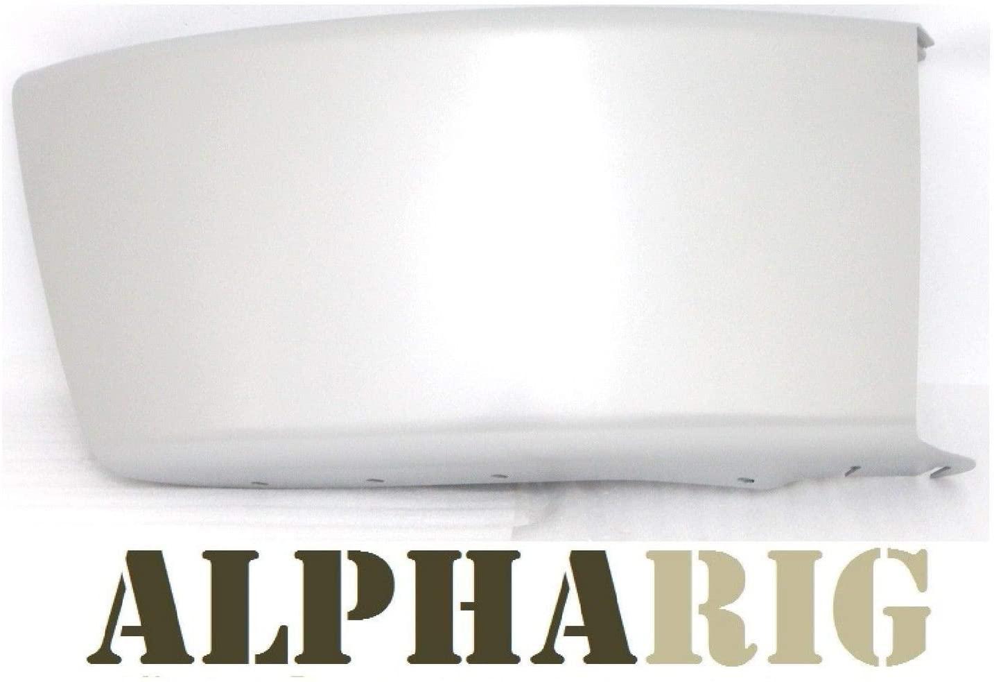 ALPHARIG FRONT BUMPER END SILVER 29.92