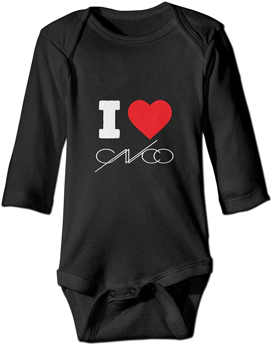 I Love Cnco Long Sleeve Baby Romper Crawling Jumpsuit Rompers