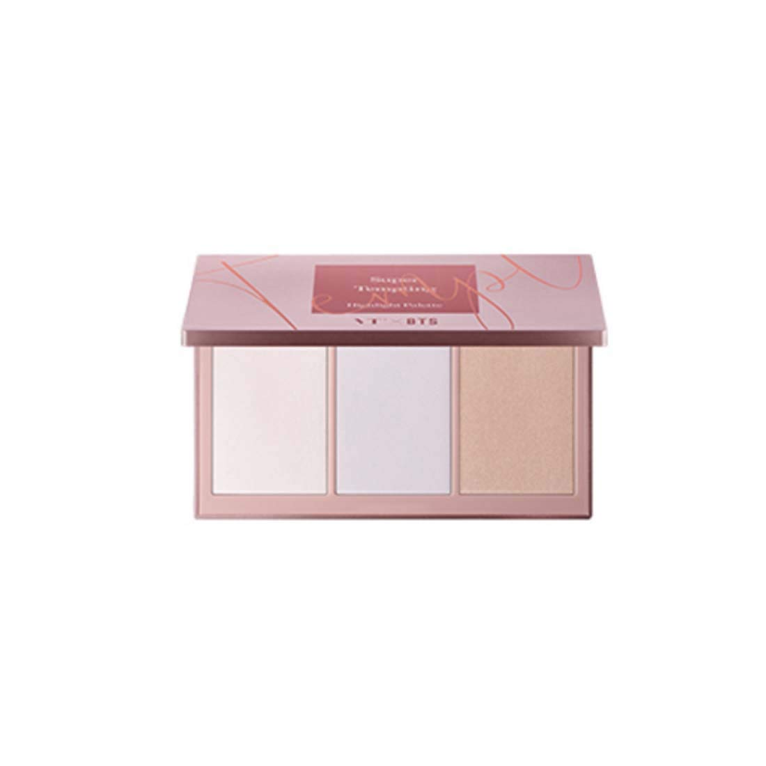 VT X BTS Super Tempting Highlight Palette 13.5g / highlighting palette, makeup highlighter palette, contour highlight palette, face highlighter