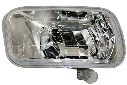 Rareelectrical NEW LEFT SIDE FOG LIGHT COMPATIBLE WITH DODGE RAM 3500 DIESEL 6.7 2010 CH2594102 55372735AB