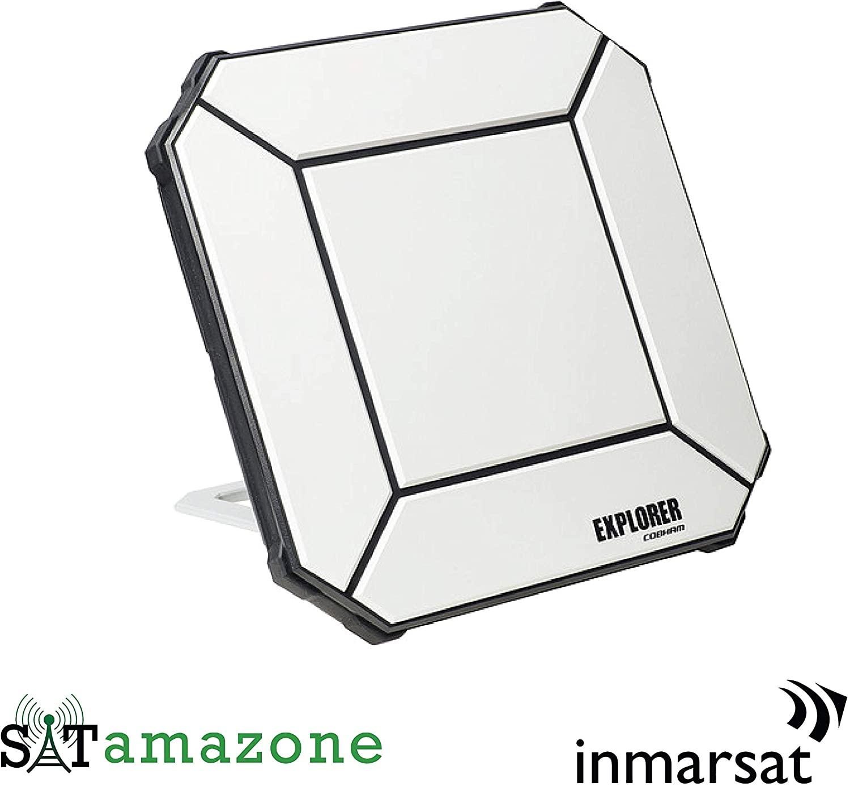 SATAMAZONE Satellite Internet Connection Cobham Explorer 510 BGAN Ultra Portable for Inmarsat Satellite Network