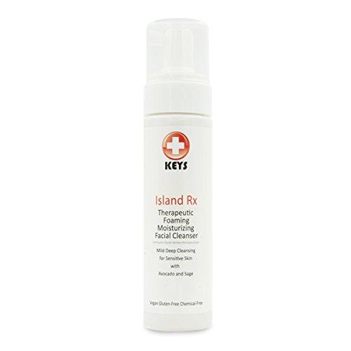 Keys Island Rx Therapeutic Foaming Facial Cleanser, 8 fluid ounces (210 ml)