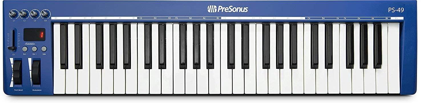 PreSonus PS49 USB 2.0 MIDI Keyboard