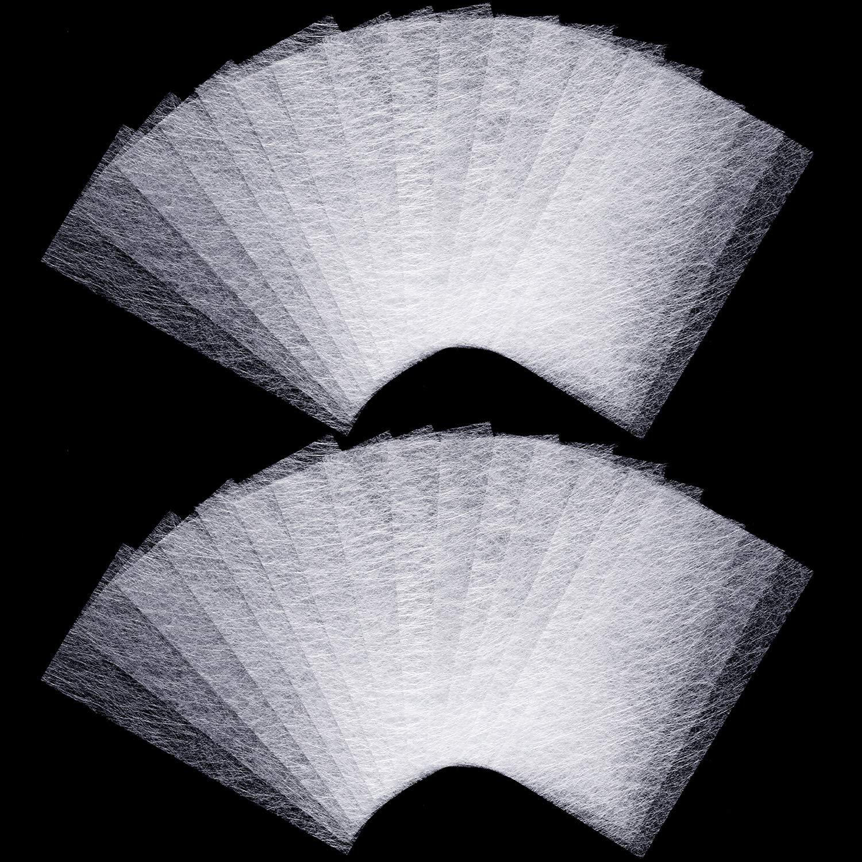 120 Pieces Nail Extension Silk Fiber Fiberglass Nails Wrap Extension Silk Fiberglass for DIY Nail Extension Accessories