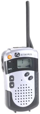 Audiovox FR240T 2-Mile 14-Channel FRS Two-Way Radio (Titanium)