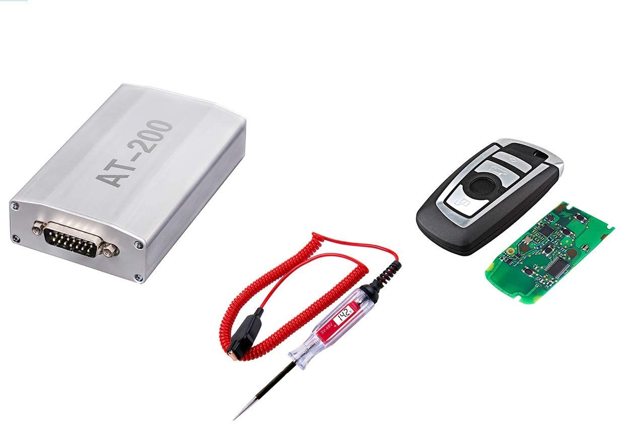 for one AT-200 ECU Programmer and 3-48V Digital LCD Circuit Tester Adding CGDI BMW Remote Key CAS4