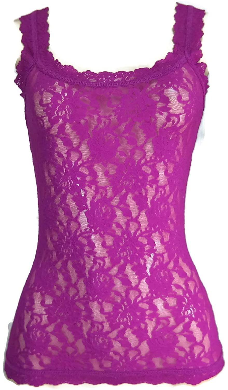 Hanky Panky Signature Lace Classic Camisole, Woman Lingerie,1390LP M, Belle Pink
