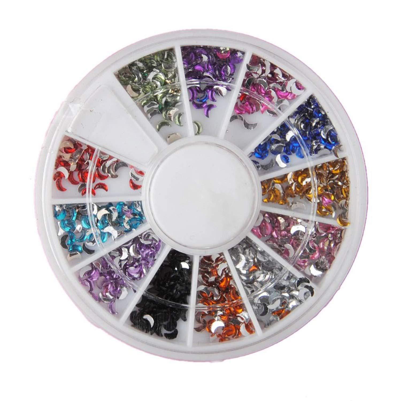 Nail Rhinestones For Nails Colorful Crystal 3D Nail Art Decoration Gems Accessories Nail Decoration Art Manicure Salon Tools DIY,B