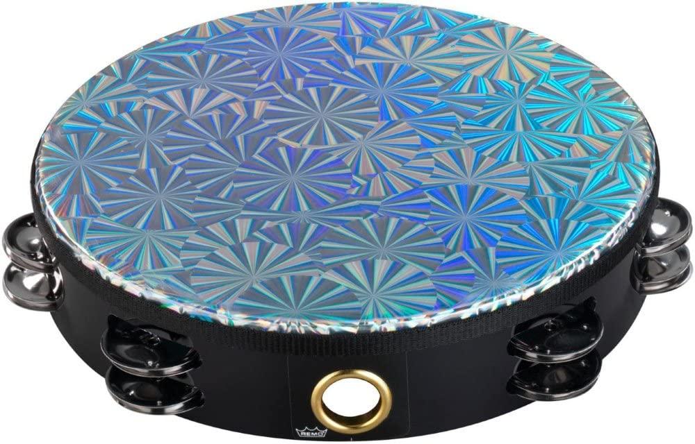 REMO Tambourin Pinwheel Prizmatic 10