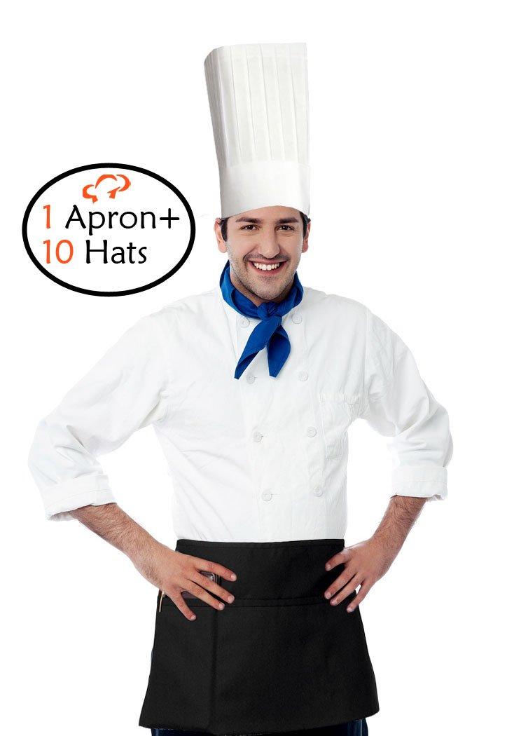 TigerChef Hat and Apron Kit (Apron + 12