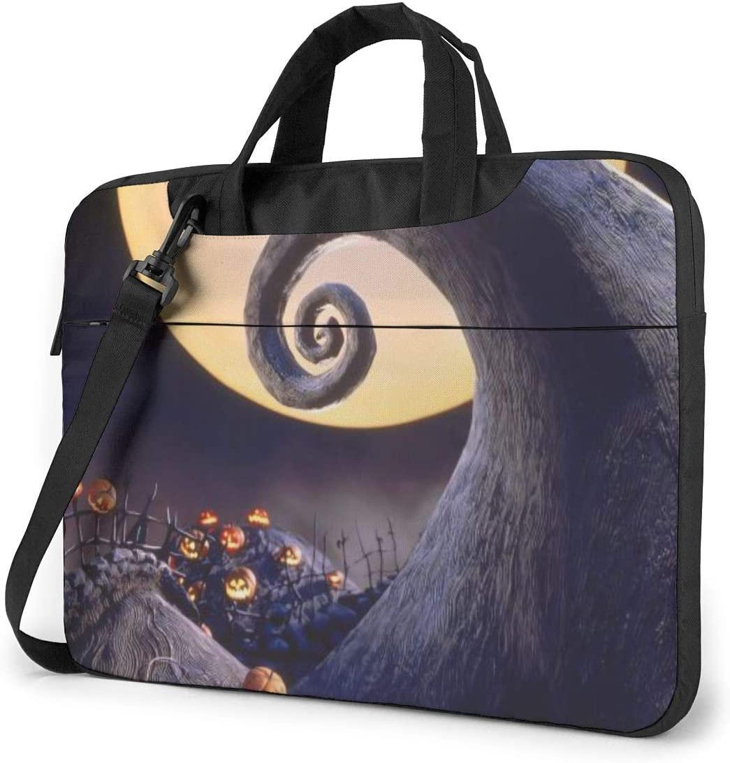 MATEH The Nightmare Before Christmas Laptop Sleeve Case 13 Inch Computer Tote Bag Shoulder Messenger Briefcase for Business Travel