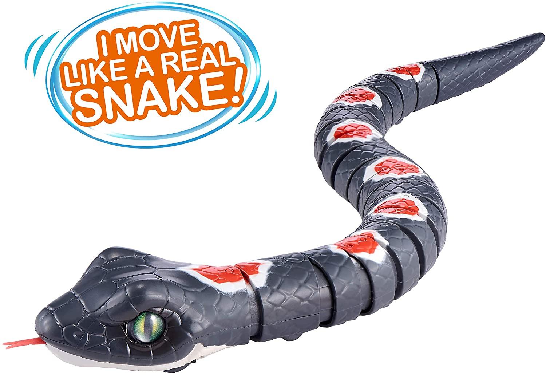 ROBO ALIVE Slithering Snake Grey Series 2