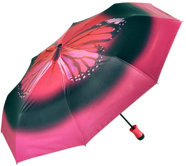 MAG.AL Bluetooth APP Anti-Lost Smart Umbrella Sun Umbrella Printing Sunscreen Anti-UV Dual-use Sunny Umbrella Can Measure Ultraviolet Rays, Position Tracking