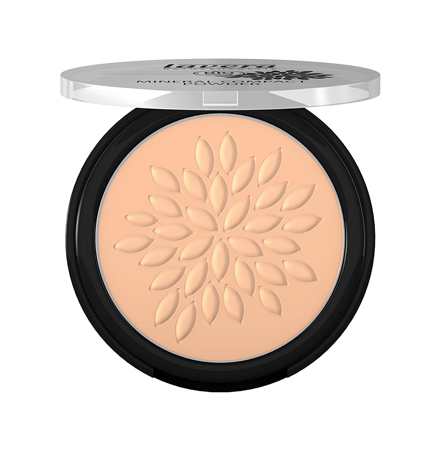 Lavera Natural Mineral Compact Powder (Honey), Fix Concealer and Foundation (For Those With Medium Skin Tones) 7g/0.23oz