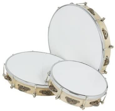 gonalca Ref 01602for Plastic afinable Tambourine 20cm ref. 01602