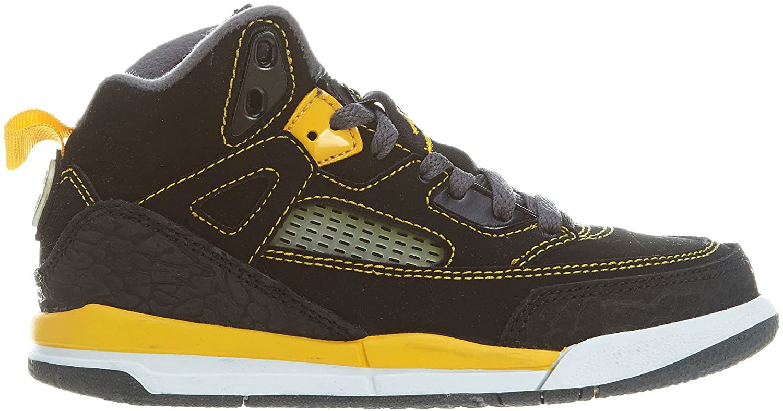 [317700-030] AIR Jordan Spizike (BP) PRE-School Shoes Black UNVSTY GLD DRK White